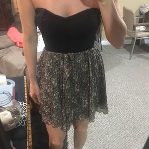 Free people strapless dress